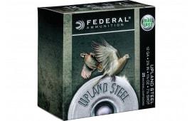 "Federal USH1275 Upland Steel 12GA 2.75"" 1 1/8oz #7.5 Shot - 25sh Box"