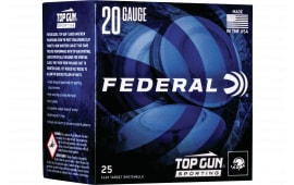 "Federal TGS282175 Top Gun Sporting 28GA 2.75"" 3/4oz #7.5 Shot - 25sh Box"