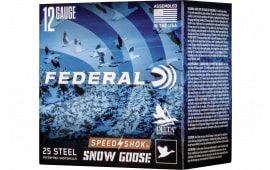 """Federal WF142SG2 Snowgoose 12 3"""" 11/4 25/10STL - 25sh Box"""