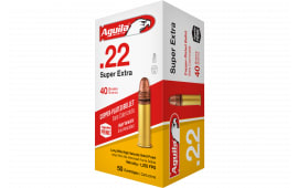 Aguila 1B222328 Standard High Veloctiy 22 Long Rifle (LR) 40 GR Solid Point - 50rd Box