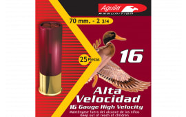 "Aguila 1CHB1607 Field 16GA 2.75"" 1 1/8oz #7.5 Shot - 25sh Box"