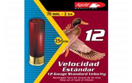 """Aguila 1CHB1218 Field 12GA 2.75"""" 1 1/8oz #8 Shot - 25sh Box"""