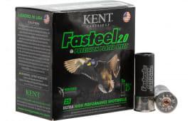 "Kent Cartridge K122FS306 Fasteel 2.0 Waterfowl 12GA 2.75"" 1-1/16oz #6 Shot - 25sh Box"