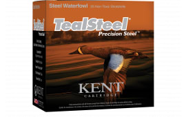 "Kent Cartridge KTS123366 Teal Steel 12GA 3"" 1-1/4oz #6 Shot - 25sh Box"