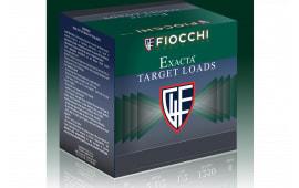 """Fiocchi 12WRNO8 Exacta White Rino 12GA 2.75"""" 1 1/8oz #8 Shot - 25sh Box"""