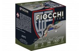 """Fiocchi 203ST2 Extrema 20GA 3"""" 7/8oz #2 Shot - 25sh Box"""