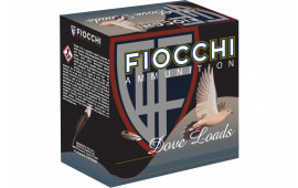 "Fiocchi 28GT8 Shooting Dynamics Dove Loads 28GA 2.75"" 3/4oz #8 Shot - 25sh Box"