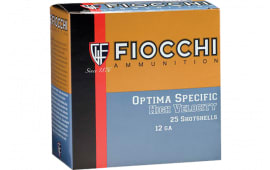 "Fiocchi 123HV4 Shooting Dynamics Optima Specific 12GA 3"" 1 3/4oz #4 Shot - 25sh Box"
