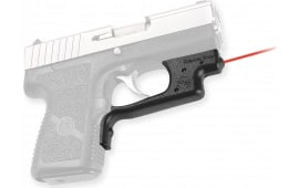 "Crimson Trace LG437 Laserguard Kahr 9/40 Poly Frame Red 633nm .5""@50ft Black"