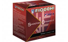 "Fiocchi 12SD78H8 Shooting Dynamics Semi-Auto Friendly 12GA 2.75"" 7/8oz #8 Shot - 25sh Box"