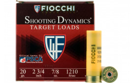 "Fiocchi 20SD9 Shooting Dynamics 20GA 2.75"" 7/8oz #9 Shot - 25sh Box"