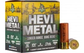 HEVI-Shot 38703 Hevimetal LR 12 2.75 3 11/8 - 25sh Box
