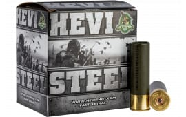 "HEVI-Shot 61223 Hevi-Steel 12GA 2.75"" 1 1/8oz #3 Shot - 25sh Box"