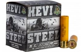 "HEVI-Shot 62003 HEVI-STEEL 20 3"" 3 7/8 - 25sh Box"