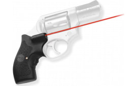 """Crimson Trace LG111 Lasergrips Red Ruger SP101 .5""""@50ft Black Poly"""