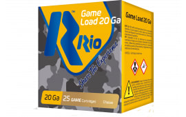 "RIO Ammunition RC2075 Game Load 20GA 2.75"" 1oz #7.5 Shot - 25sh Box"
