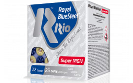 "RIO Ammunition RBSSM40BB Royal BlueSteel Super Magnum 12GA 3.5"" 1-3/8oz BB Shot - 25sh Box"