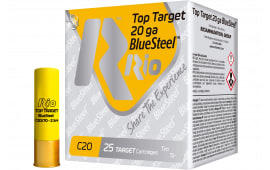 "RIO Ammunition TTBS207 Top Target BlueSteel 20GA 2.75"" 7/8oz #7 Shot - 25sh Box"