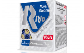 "RIO Ammunition RBSM204 Royal BlueSteel Magnum 20GA 3"" 1oz #4 Shot - 25sh Box"