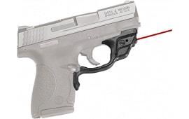 Crimson Trace LG489 Laserguard Red 633 nm S&W Shield 9/40 Black Poly