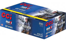 CCI 958ME 22WMR Maximag 40 Jacketed Hollow Point Meat Eater - 200rd Box