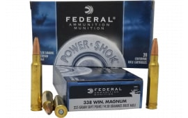 Federal 338ESC 338 225 SP Powershk - 20rd Box