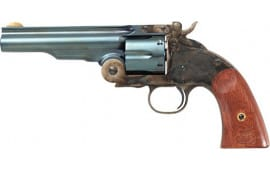 Traditions 0850C09 Schofield 7 .45LC Charcoal Case Hardened Revolver