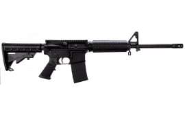 "RRA AR1222 LAR-15 Car A4 AR-15 SA 16"" 30+1 6 Pos Stock Black"