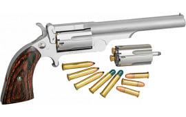 North American Arms 22MCR4 Ranger II 22LR 4 SS Breaktop Full RIB