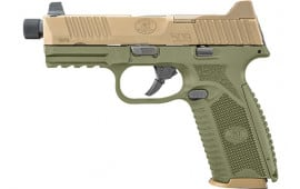 FN 66100598 509 Tactical ODG FDE NS NMS 1 17rd 2 24rd