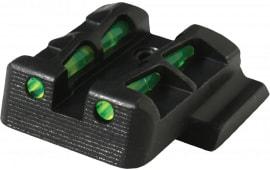 Hiviz Litewave S&W M&P Shield 9mm/40 S&W Fiber Optic Green Black