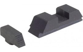 AmeriGlo GT505 Defoor Tactical Sights For Glock Flat Black