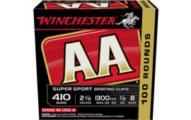 Winchester Ammo AASC418VP AA SPT CLY 1/2 100/5 - 100sh Box