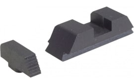 AmeriGlo GT504 Defoor Tactical Sights For Glock 9/40 Flat Black