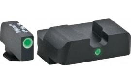 AmeriGlo GL101 i-Dot NS For Glock 17,19,22-24,26,27,33-35,38,39 Tritium F/R Green