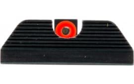 AmeriGlo GL353 UC Set Night Sights Glock 17/19/22/23/24/26/27/33/34/35/37/38/39 Steel Green Tritium w/Orange Outline Black