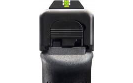 AmeriGlo GL614 CAP Night Sight Glock 17/19/22/23/24/26/27/33/34/35/37/38/39 Tritium Green w/Lime Outline Paint Black