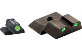 AmeriGlo SW145 Tritium Set S&W M&P Shield 3Dot Green