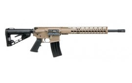 "Diamondback DB1565GEFDE DB15 Elite Keymod 15"" Semi-Auto 18"" 28+1/5+1 Adaptive Tactical EX Performance Flat Dark Earth Cerakote/Black Melonite"