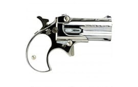 Cobra Derringer .22 WMR ( .22 Mag ), Over / Under, Chrome / Pearl Grips C22MCP