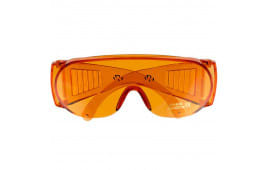 Walkers Game Ear Gwpfcsglamb Shooting Glasses Full Coverage Wraparound Polycarbonate Amber