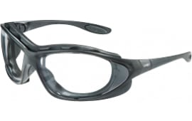 HOW S0600 Uvex Seismic Black Frame CLR Lens