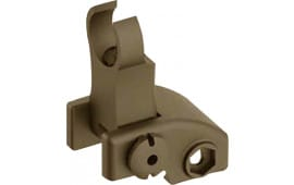 Blackhawk 71BU02DK AR-15 Folding Front Back Up Iron Sight Flat Dark Earth