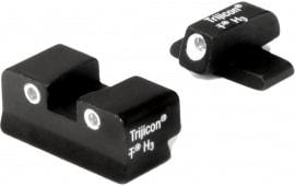 Trijicon SP01 Bright & Tough NS XD/XD(m)/xd-s F/R Green Tritium White Outline