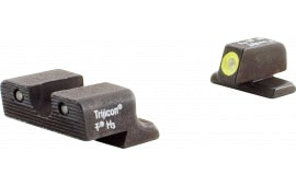 Trijicon SP101Y HD NS Springfield XD/XD(m) F/R Green Tritium Yellow Front Outline