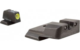 Trijicon SA137Y HD NS S&W M&P SD9/40 VE F/R Green Tritium Yellow Front Outline