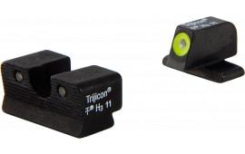 Trijicon SG103Y HD NS Sig 220/229 3Dot Yellow Tritium Front Black Rear