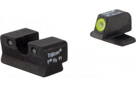 Trijicon 600751 HD Night Sights Springfield Xd-s Tritium/Paint Black