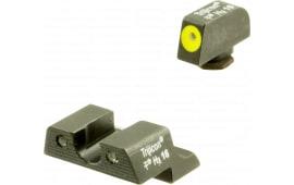 Trijicon 600784 HD Night Sights Glock 42/43 Tritium Green w/Yellow Outline Black