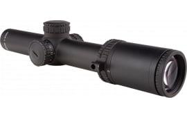 Trijicon 1900007 AccuPower 1-4x 24mm Obj 97.5-24.2 ft @ 100 yds FOV 30mm Tube Dia Black Segmented Circle/Crosshair Green